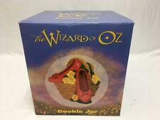 Wizard Of Oz Ruby Slippers Collectible Cookie Jar Vintage 1999 Warner Brothers