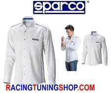 CAMICIA SPARCO MANICA LUNGA UOMO TAGLIA S SMALL SHIRT COTTON FABRIC