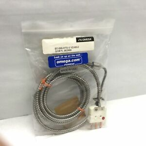 "Omega BT-090-RTD-3 Extruder RTD Probe With Bayonet Fitting Cable 60"" Probe 3.5"""