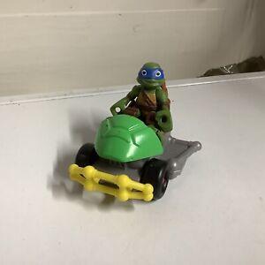 Half Shell Heroes Teenage Mutant Ninja Turtles Patrol Buggy (front Half) W/ Leo