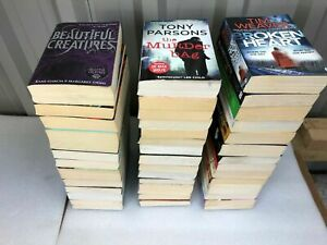 Crime/Thriller/Suspense/Detective Fiction Joblot 20 Books Paperback - Bundle