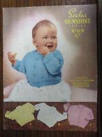 "Vintage Sirdar 6411 Ladies Summer Top Knitting Pattern 4 ply 32-38/"" Repro"