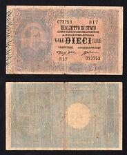 *R5* 10  lire UMBERTO I° (CRODARA) 1888 *R5*