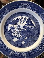 """Royal China Blue Willow Ware Plate 10 1/2"""" EXCELLENT"""