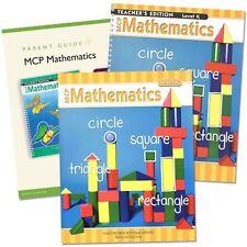 MCP Mathematics Homeschool SET - Homeschooling Curriculum Level K - Kindergarten