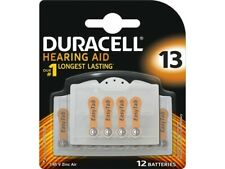 Duracell Size 13 Hearing Aid 12 Longest Lasting Battery Pack