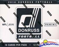 2016 Donruss Football MASSIVE Factory Sealed JUMBO FAT PACK Box-192 Cards!