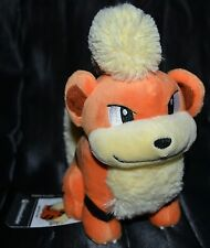 "7"" Growlithe # 58 Official Pokemon Center Plush Dolls Toys Stuffed Animals 2016"