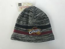 Cleveland Cavaliers Mitchell and Ness NBA Beanie Hat - One Size - Grey - New