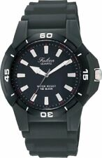 CITIZEN Q & Q watch Falcon Sports type analog black Q596-851