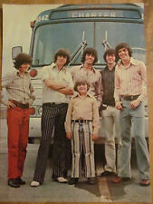 The Osmond Brothers, Osmonds, Donny, Double Full Page Vintage Pinup