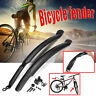 Bike Bicycle Mudguards Fenders 26'' Front Rear Mud Guard Set Quick Release