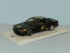 Spark Models 1/43 BMW 635 CSi Australian Touring Car Champion 1985 Richards MiB