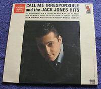 Jack Jones 1963 Kapp Mono LP Call Me Irresponsible and the Jack Jones Hits CLEAN