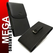 For Samsung Galaxy Mega 6.3 Premium Vertical Leather Holster Pouch Case Clip