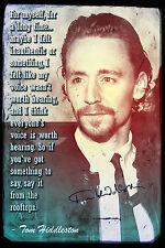 Tom Hiddleston impresión fotográfica Cartel