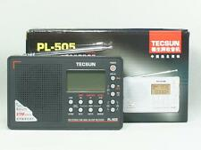 TECSUN PL-505 FM STEREO/SW/MW/LW ETM ATS DSP Receiver World Band Radio ( Black )