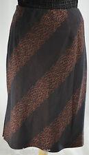 Alfani skirt Kenya sienna pencil jungle straight knee shimmer lined S 4 NWT $79