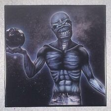 IRON MAIDEN Different World Coaster Record Cover Ceramic Tile Smaller Image