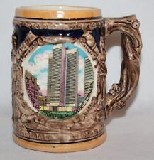 Vintage Beer Stein - Souvenir of Montreal, Quebec, Canada - vgc