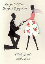 Personalised Engagement Congratulaions Card
