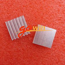5Pcs Aluminum Heat Sink 20*20*6mm for Led Power Memory Chip Ic
