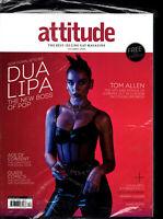Attitude Magazine December 2020 Dua Lipa Tom Allen Colin Firth Stanley Tucci Ama