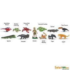 Rainforest Toob/Safari Ltd/toob/680504/frog/toucan/iguana/