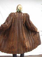 LADIES XL 2XL Vintage SWAKARA PERSIAN LAMB Fur Coat Каракулевая шуба RR141