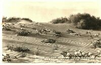 Desert Dunes Shileld's Date Gardens Indio California RPPC Real Photo Postcard