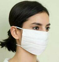 🇫🇷 Masque AFNOR Lavable Blanc Ecru (Élastique par la tête)