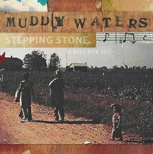 Stepping Stone - Muddy Waters (2009, CD NEUF)4 DISC SET