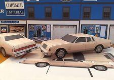 Papercraft Chrysler New Yorker Fifth Avenue PaperCar 1979 - 1981 EZU-MakeIt