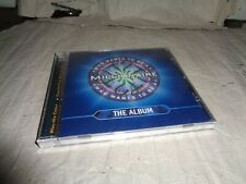 WHO WANTS TO BE A MILLIONAIRE THE ALBUM cd UK RELEASE NEW SEALED RARE