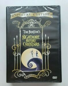 NIGHTMARE BEFORE CHRISTMAS  RENATO ZERO  TIM BURTON  DVD