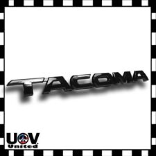 For Toyota Tacoma 3D Tag Gloss Black Door Fender Emblem Decal Badge Nameplate U1