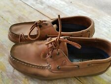 SPERRY Mainsail Men's Brown Boat Shoes Size 11