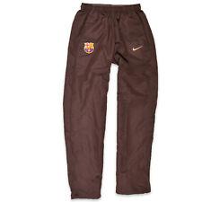 Nike señores pantalones tiempo libre pantalones talla s fc barcelona marrón, 49555