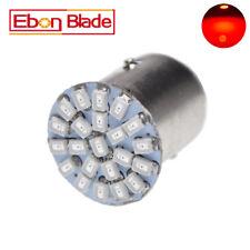 2 X Red BAY15D 1157 1142 Car Tail Stop Brake Light 1206 22 SMD LED Bulb 12V DC