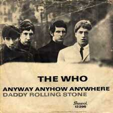 """THE WHO """"ANYWAY ANYHOW ANYWHERE"""" ORIG GER 1965 VG-/VG++"""