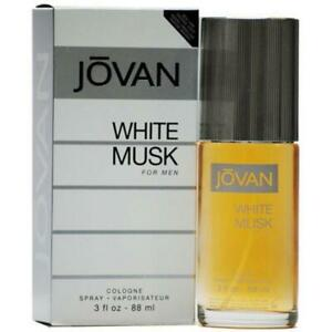 Jovan Musk White by Coty 3.0 oz Cologne Spray for Men New in Box