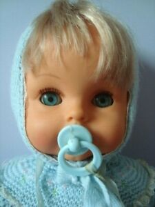 CICCIOBELLO SEBINO ANGELO AZZURRO BAMBOLA VINTAGE primo tipo 1968 doll toy