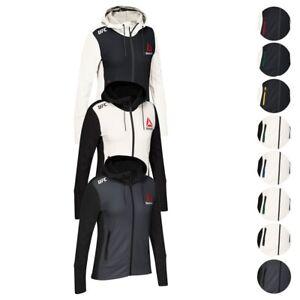 UFC League Reebok Official Fight Kit Walkout Full Zip Hoodie Collection Women's