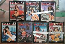 RAMBA la mercenaria CPL serie completa 1 2 3 4 5 6 7 blue press