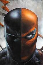 Deathstroke #45 Card Stock Finch Variant Yotv The Offer Dc Comics