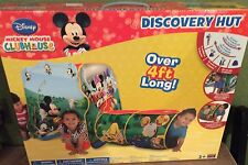 Disney Mickey Mouse CLUBHOUSE Discovery Hut Plat Hut Over 4 feet Long NEW