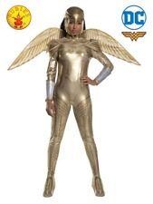 NEW Wonder Woman 1984 Golden Armour Ladies Costume | Adult Sizes S, M, L