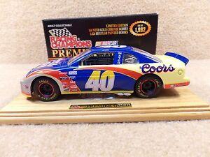 New 1997 Racing Champions 1:24 Diecast NASCAR Robby Gordon Premier Gold #40 Bank