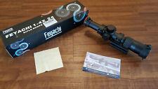 Feyachi Optics Falcon Rifle Scope 1-4x24 Red Illuminated Starburst Reticle