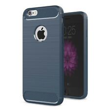 case Alu carbon Look handy smartphone iPhone 7/7S mit 4,7 Zoll, TPU Hülle cover